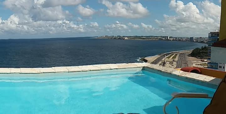 HabanaVista Relais ocean&pool (4suites/8pax)