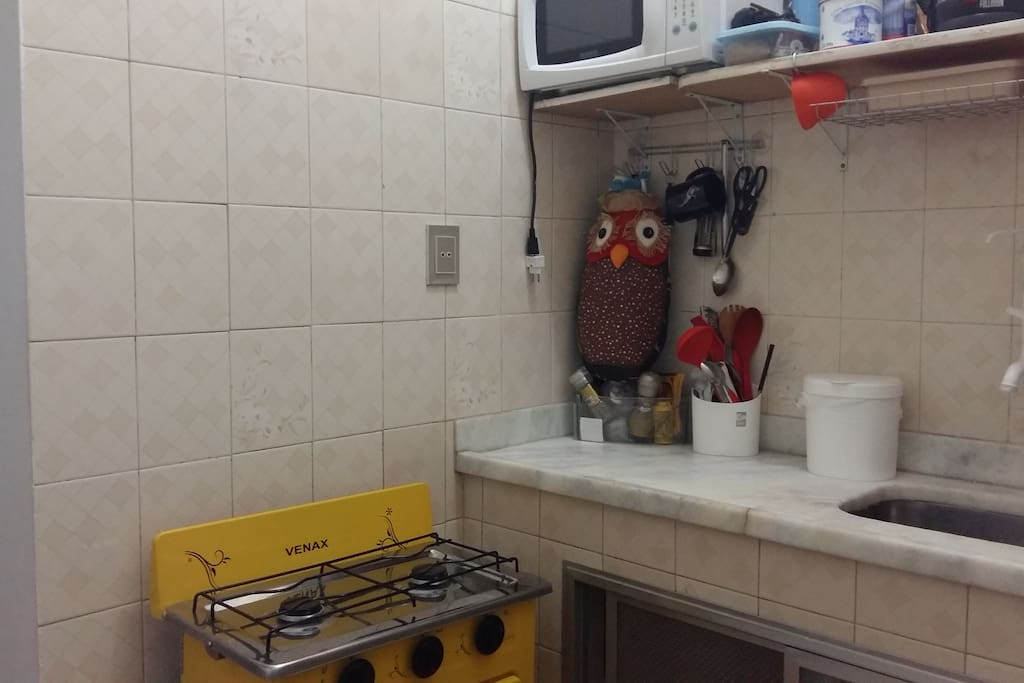 Cozinha pequena e funcional
