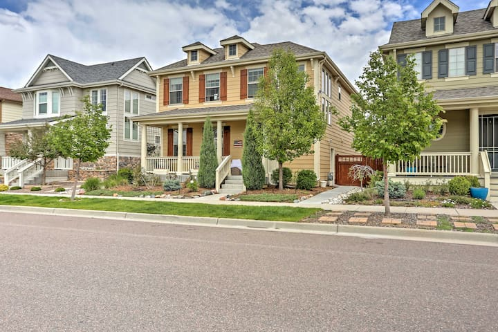 Newly Built Denver Apartment by Park in Stapleton!