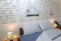 Un accogliente appartamento in stile marinaro, che vi garantirà relax e piacere.