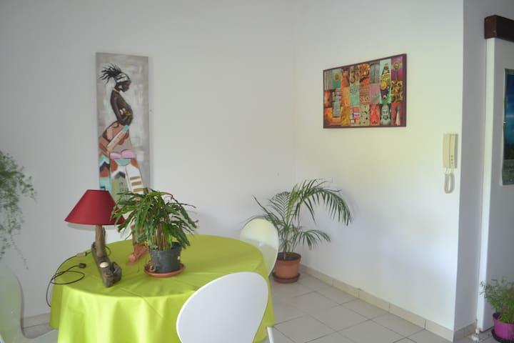 Appartement  sur la route des plages avec jardin - Remire-Montjoly - Apartment