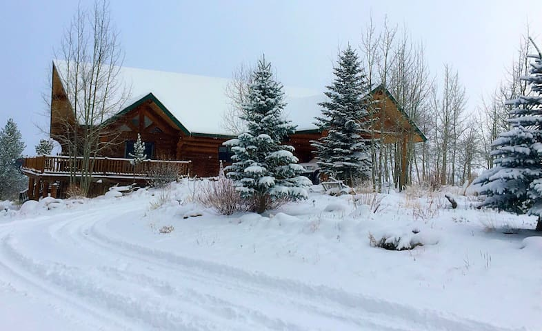 Mt Elbert View Lodge, privacy and mountain views