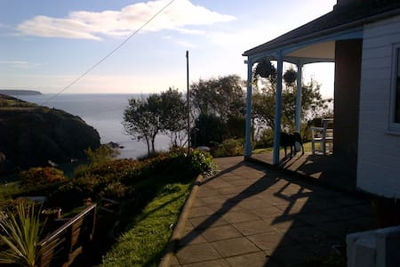 Bed and breakfast, magical fishing cove, twin room - Cornwall - Oda + Kahvaltı