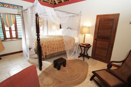 one of the cottages/rooms