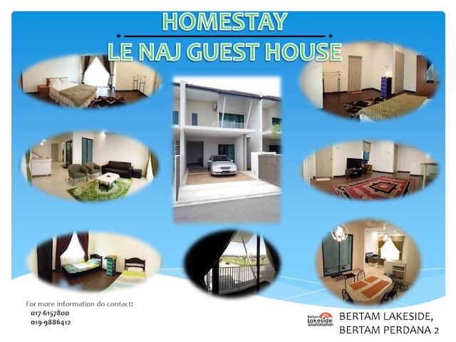 HOMESTAY :  LE NAJ GUEST HOUSE - Kepala Batas - Dům