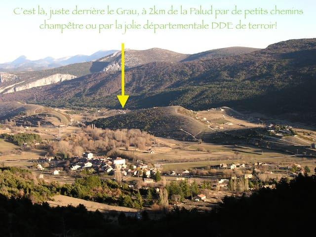 Sous les Arbres - La Palud sur Verdon  - Lepianka