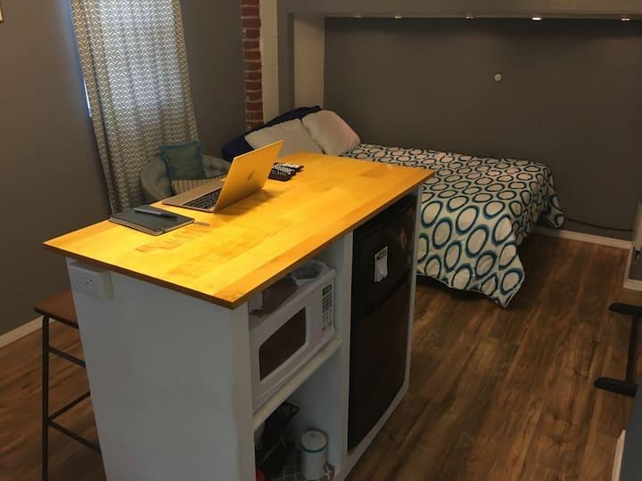 the Hideaway Studio Apartment