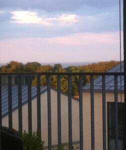 Egen altan og udsigt nær Moesgaard - Højbjerg - Lägenhet