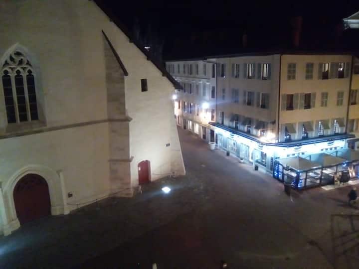 Jolie chambre cœur d'Annecy