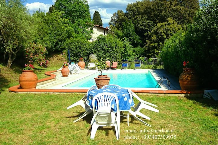 Beauty and quietness with pool