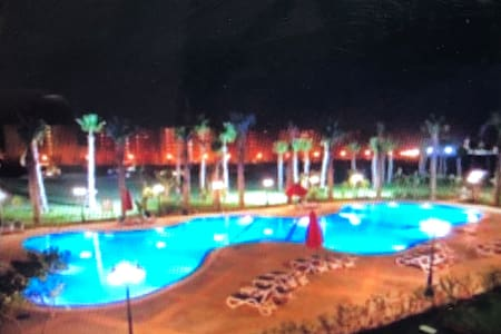 Golf Porto marina studio pool view north coast Alx