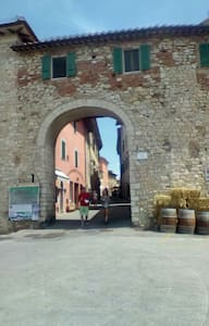 flat within walls medieval town - Castiglione del Lago - Byt