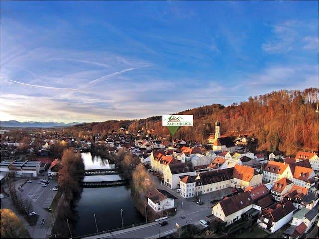 Alpenblick- vor den Toren Münchens - Wolfratshausen - Departamento