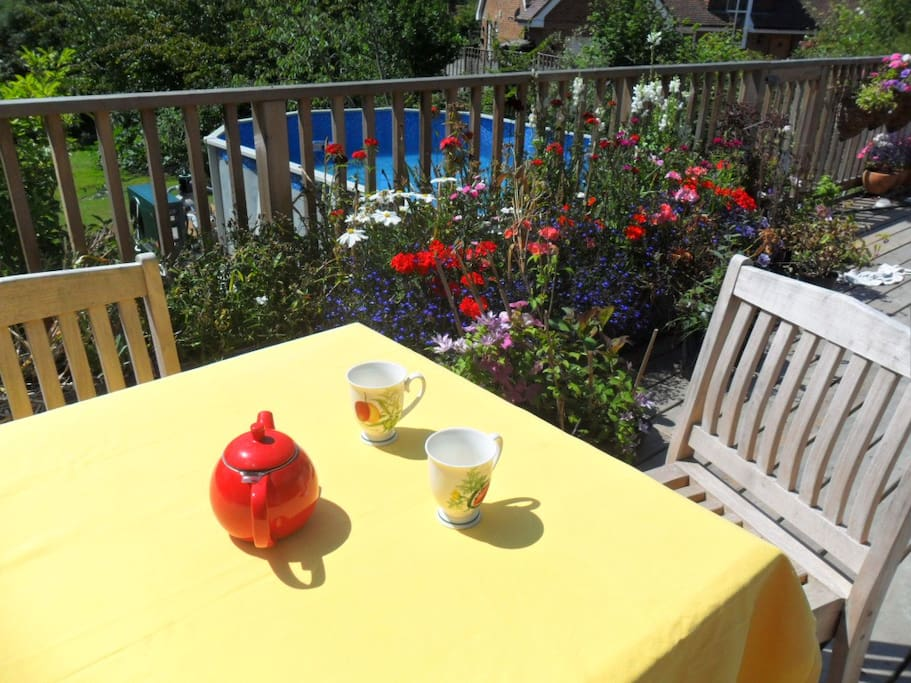 Cup of tea on the deck?
