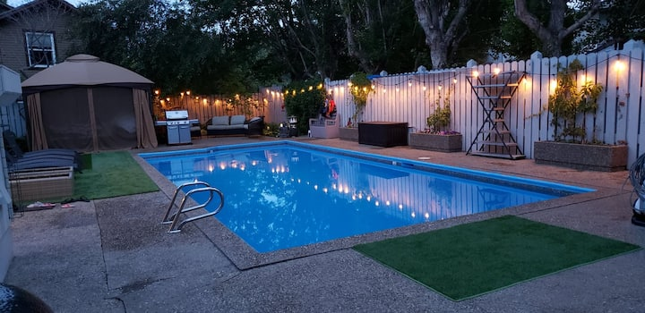 Rent My Backyard Heated Saltwater Pool + Space!