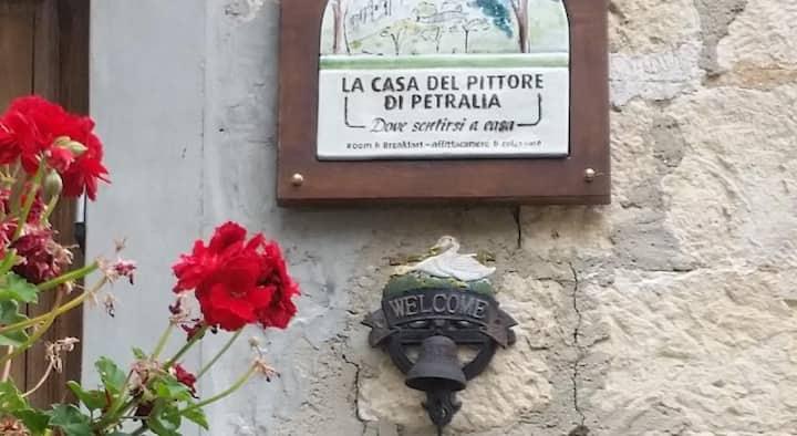 La casa del pittore di Petralia- stanza di Rosa