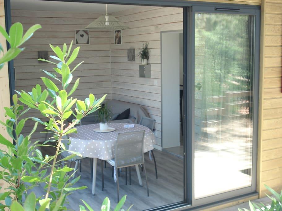 salon dans la veranda
