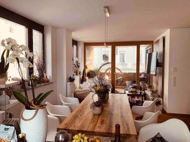 Wohnzimmer Frühling