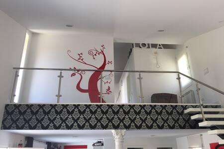 Villa Lola en Rio Cofio. Loft - Madrid