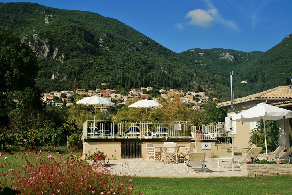 The view of the village