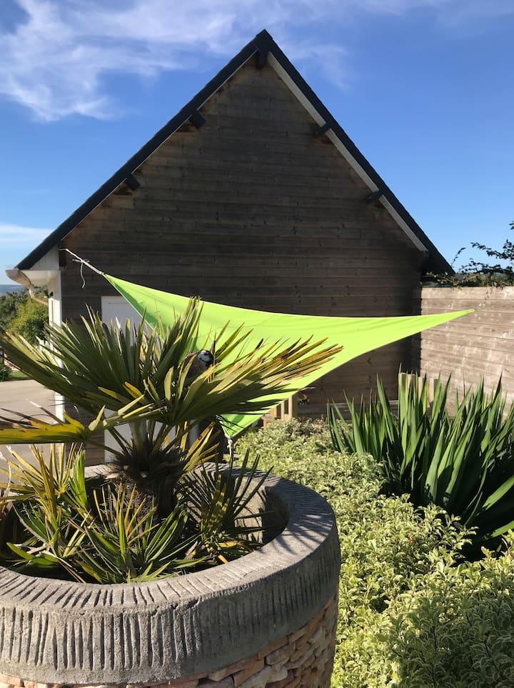 Plage, surf et détente a Siouville