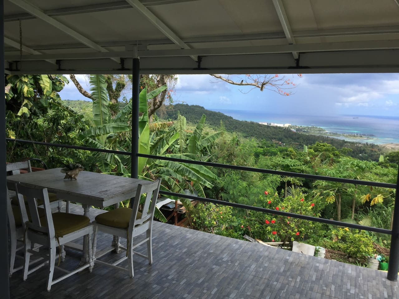 Breakfast, lunch, and dinner with a view