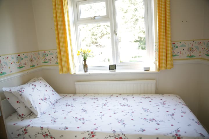Peaceful ,vibrant and welcoming single room