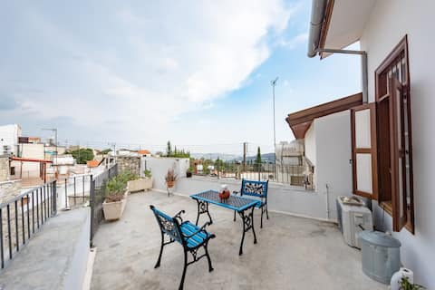 LEFKARA VIEW APARTMENT WITH TERRACE
