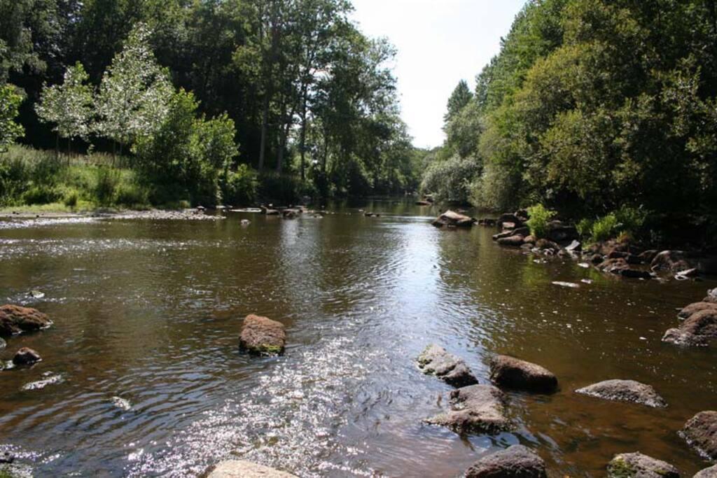 Rivière la Mayenne