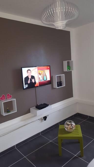 Télévision dans la chambre