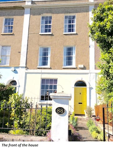 Garden Flat of Georgian house - Bristol - Daire