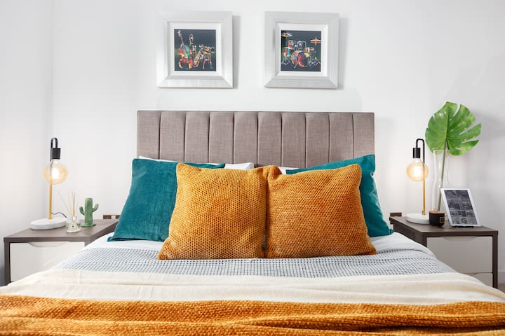 Comfy beds  to make your stay comfortable.
