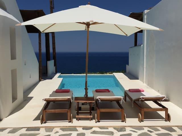Casa Sul Mediterraneo, Villa with seaview and pool