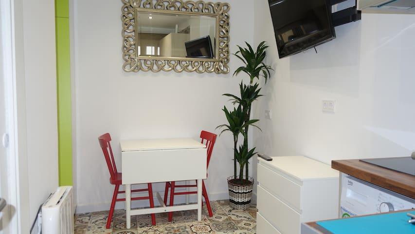 Apartamento céntrico y bien comunicado.wifi.