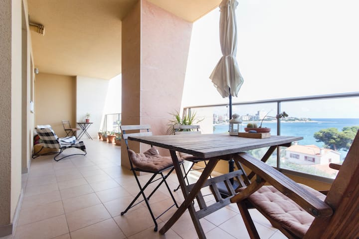 Room with lovely sea view - Alicante - Appartement