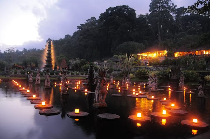 TIRTA AYU LOCATED WITHIN THE WATERPALACE