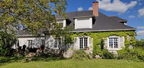 Maison au calme avec vue sur la vallée du Loir