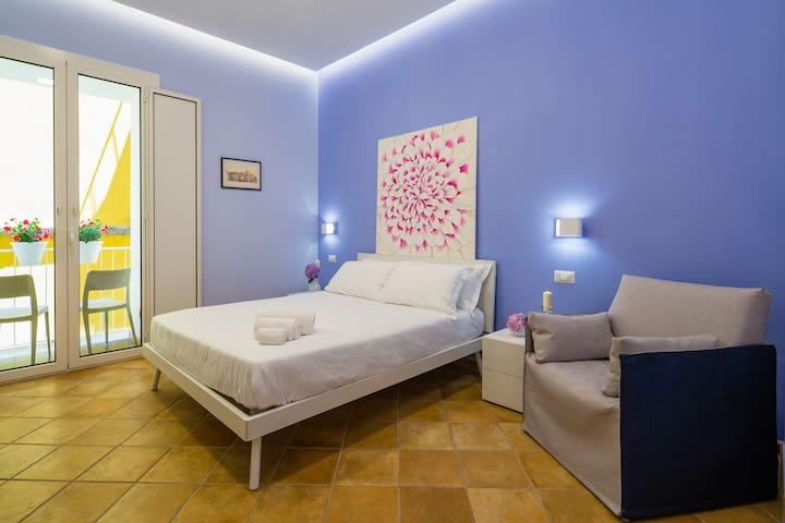 Apartment Fuoro 10 Sorrento - Bedroom