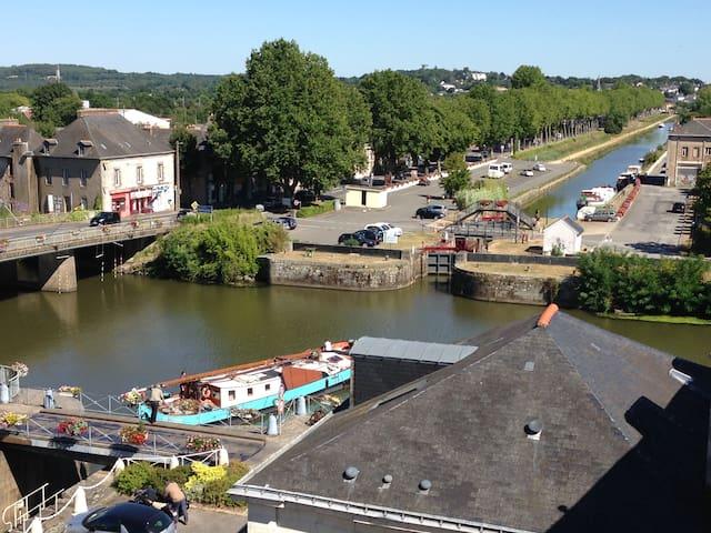 Le Duplex des Eclusiers - Vue imprenable sur Canal