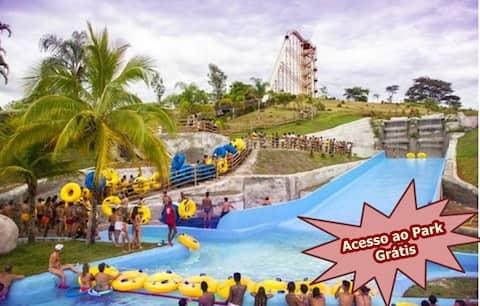 Aldeia das Águas Flat Quartier Acesso Park grátis