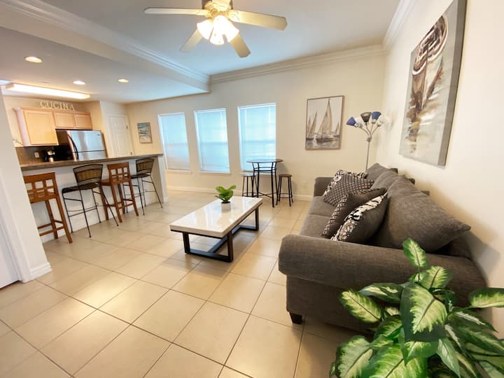 Amazing location, just steps away from the beach!