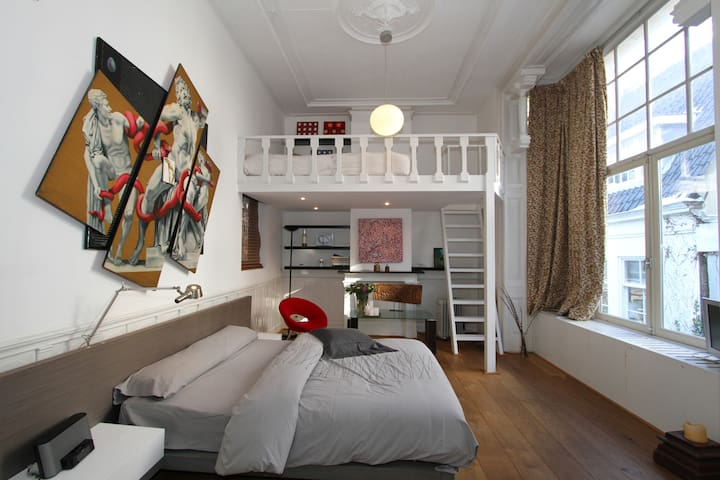 Canal LOFT, great LOCATION - Amsterdam - Huoneisto