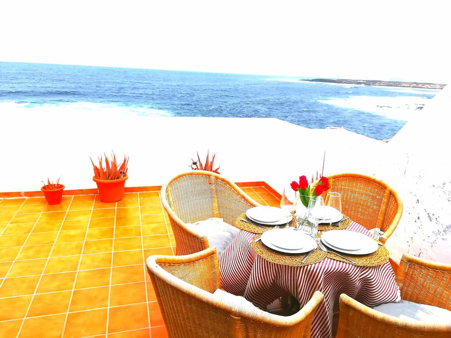 Terrace with amazing Ocean View