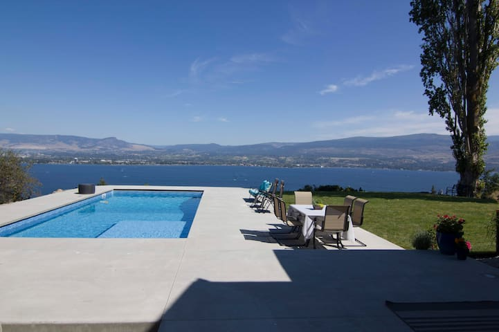 Breathtaking view from pool & infinity edge yard