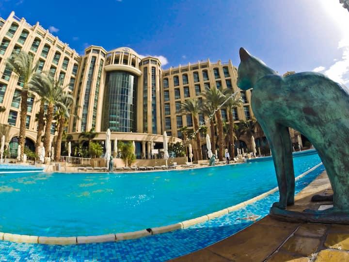 Luxury private queen suite Eilat