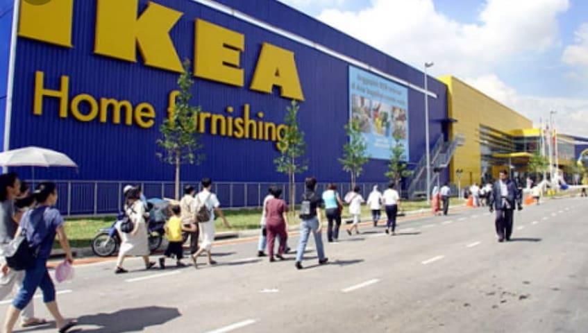 IKEA HOMES 4 Bathroom 3min to IKEA /DESIGN VILLAGE