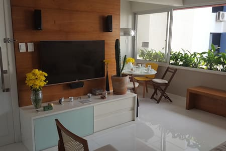 Bright and cozy room in charming appartment! - Salvador - Apartment