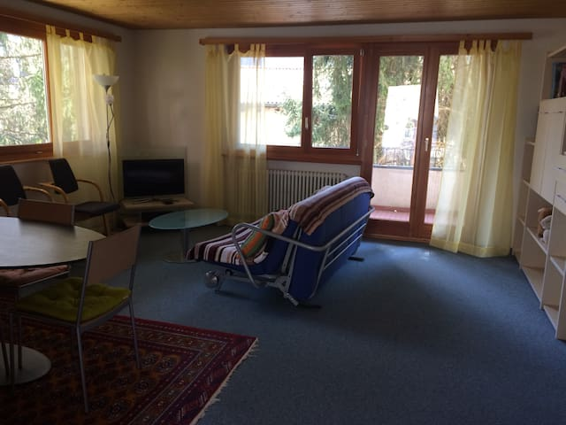 Schöne Wohnung mit Garten - Avegno - Rumah