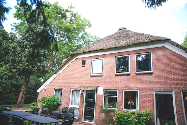 13p. accommodatie 'De Kamperfoelie' - Sleen - Rumah
