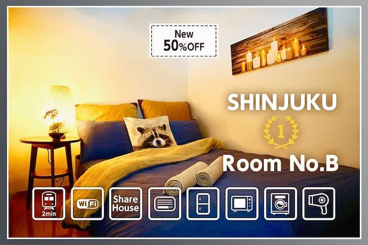 SALE Yoyogi&Shinjuku【B】★ShareHouse︎★1ppl Room ★